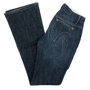 Joe's Jeans Rocker Bootcut Low Rise Thmpson Wash